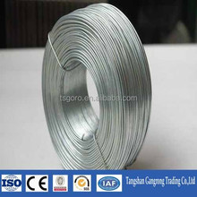 Galvanized loop bailing steel Wire/Quick Link Cotton Baling Wire With Single/Double Loops/Bailing tie one side loop