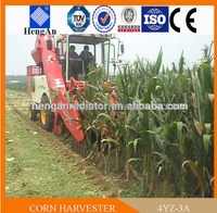 India Hot Sell 3-row Mini Sweet Corn Combine Harvester