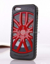Hot selling wheel designs phone case for iphone 5/5s