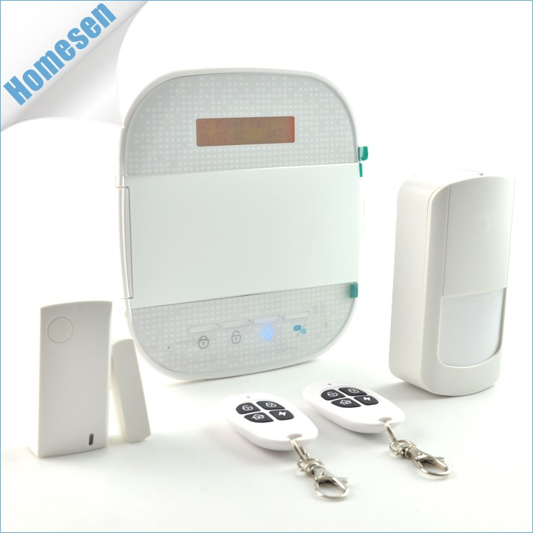 Touch Keypad Android & IOS App Controlled Smart GSM Home Alarm