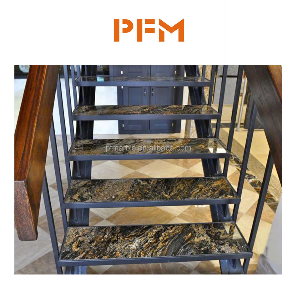 office interior wall and floor granite stairs/steps price
