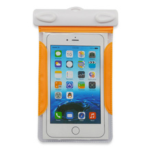 IPX8 underwater pvc plastic waterproof pocket for cell phone