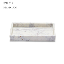 Marble Serving Tray White Marble Amenity Tray