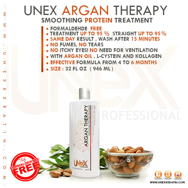 UNEX Argan Protein Therapy 940 ml