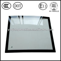 supply Volvo EC 210 Parts with E-MARK certificate excavator digger windshield glass