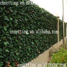 Fake lawn leaf fence green plastic Artificial Faux Ivyleaf fence decorative turf artificial leaf fence