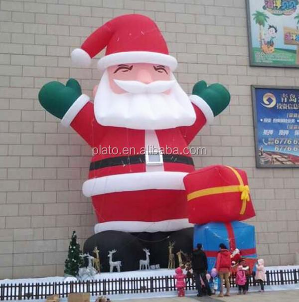 santa sacks inflatable wholesale inflatable suppliers alibaba - Huge Inflatable Christmas Decorations