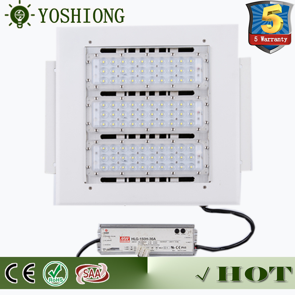 China manufacture High Brightness 80W 100W 120W 180W gas station canopy led light
