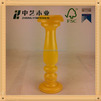 Hand carving solid wood candle holder,European decoration items