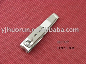 HR17107 stainless steel nail clipper