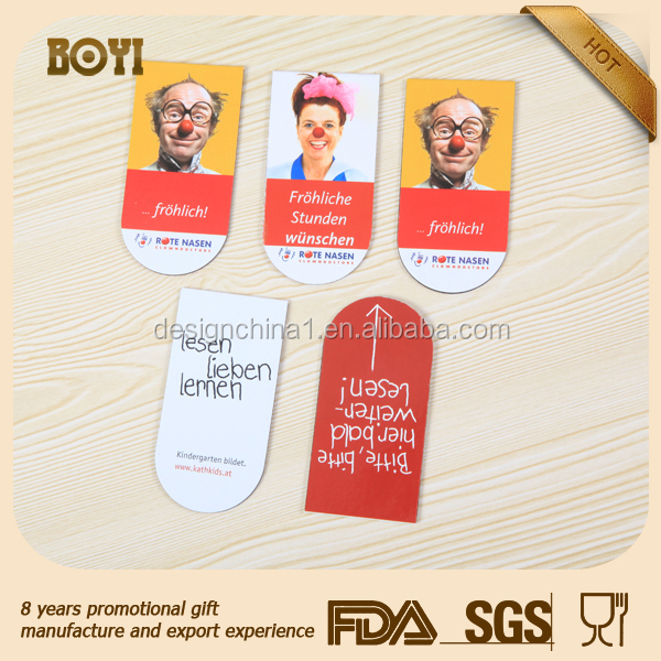 Hunan ,China Custom gift fridge magnets for promot/customized promotion paper fridge magnet