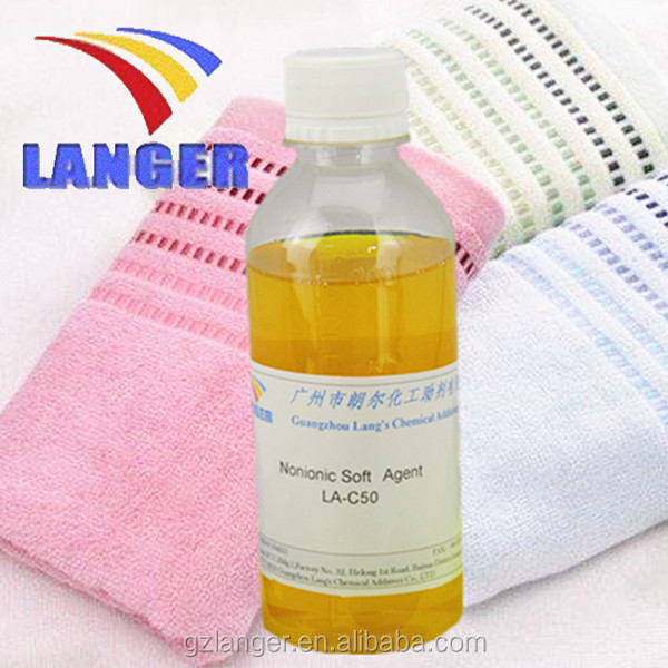 chemical additives Low foam Nonionic fabric Softener Agent used in printing and dyeing auxiliary industry