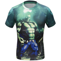 New arrival sportswear mens custom sublimation printed surf rash guard