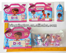 hot sell plastic cartoon doll toy doc mcstuffins