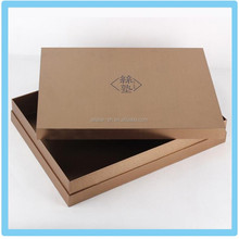 High Quality paper Packaging Box with Lid for clothing