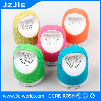wireless with flashing led light loud sound wireless speaker