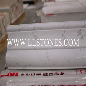 "marble trim molding 2""x12"" pencil molding Foshan factory"
