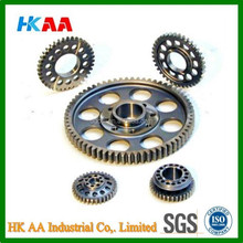 CNC machining motorcycle gears sprockets, good quality gears sprockets