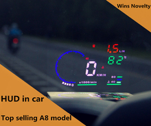 Factory Led Car Window Display Bluetooth Hud Radar Speed Display For All Cars