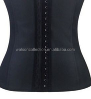 2015 Instyles cheap Sport waist training corsets 100% Rubber Work Out latex waist cincher wholesale corset 8xl