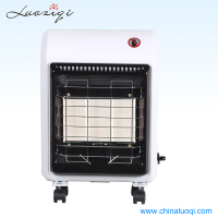 Hot sel mobile 4200W portable gas heater Gas electric living romm gas heater