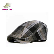 Retail Summer High quality Chic Fashion OEM cotton fabric mens Wholesale cabby newsboy ivy cap