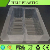 disposable 2 units bread container