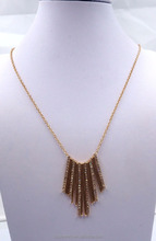 Necklace gold plated in Zinc Alloy jewelry