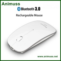 Rechargeable Lithium Battery wireless bluetooth mouse for Computer Desktop Laptop