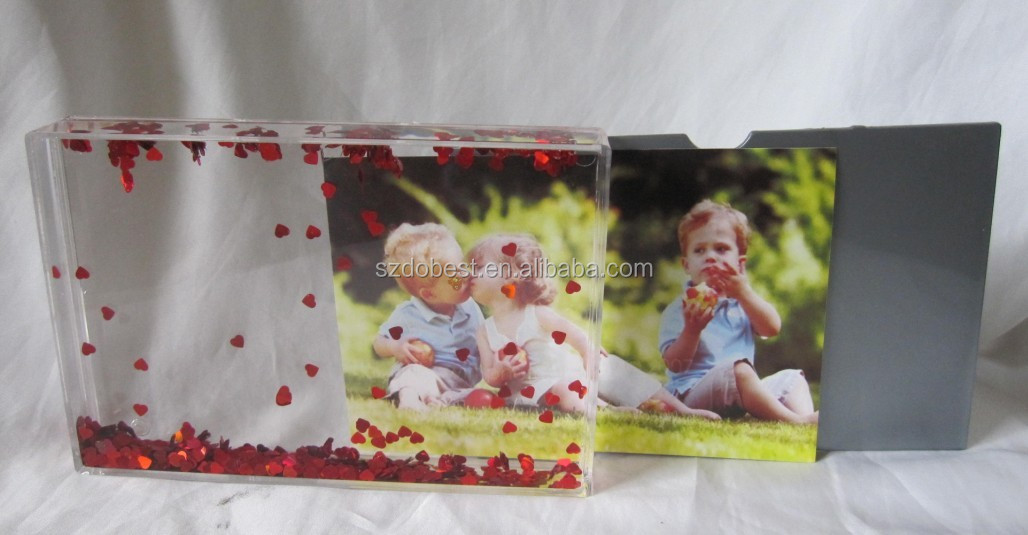 Personalized 4x6 Acrylic Picture Frame - Create Your Own Design
