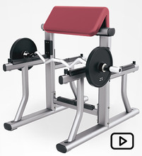 RUIBU-9009 arm curl bench machine/gym fitness equipment/Commercial fitness equipment