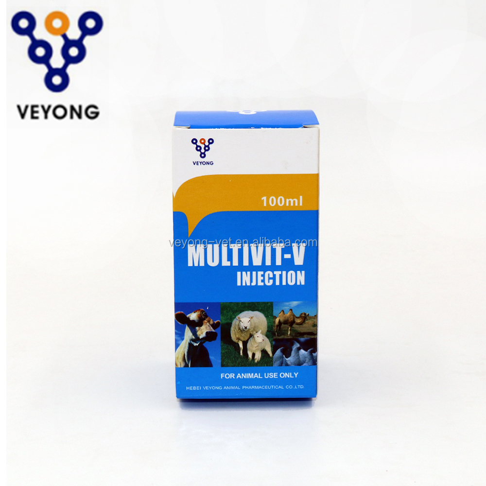 Promoting animal growth and egg production nutrition supplment multivitamin injection