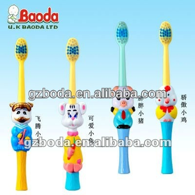 hot sale cartoon toothbrush baby