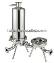 wine filter machine/ Stainless steel filter housing for removing the particles in wine filtration
