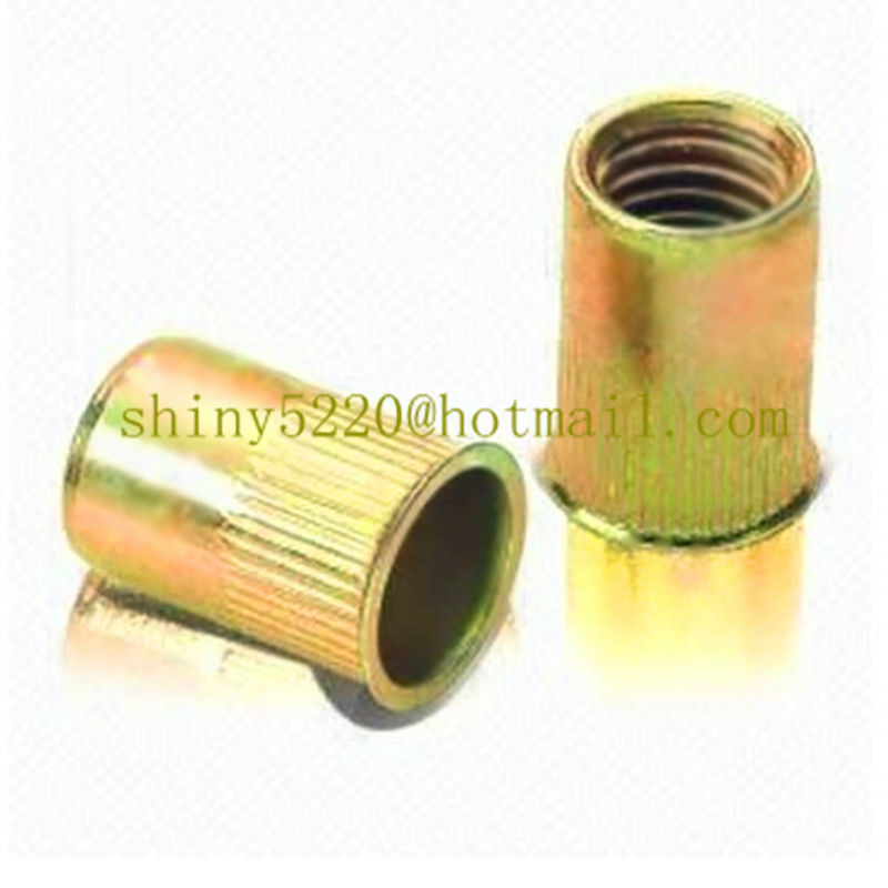 China supplier copper customized rivet <strong>nuts</strong> with Cr3 plating