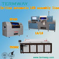 L6 big automatic smd led pick and place machine, 250mm*any length size SMT placement machine, desktop chip mounter