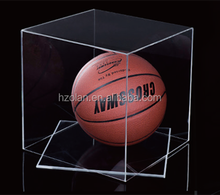 clear acrylic basketball box DISPLAY BOX ALX0906
