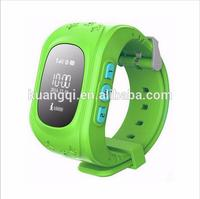 Brand new gps non removable personal tracking bracelet smart watch phone gv09 q50 watch