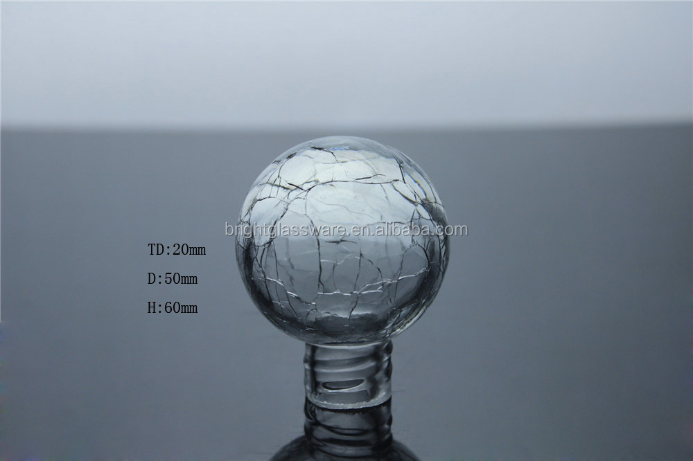 Crack Glass global and glass lamp shade