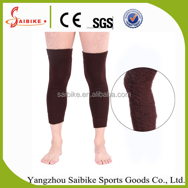 Sports kneecap, warm knee pads, Shin guards riding in winter basketball football safety knee support