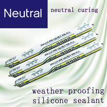 weather proofing silicone sealant with neutral curing