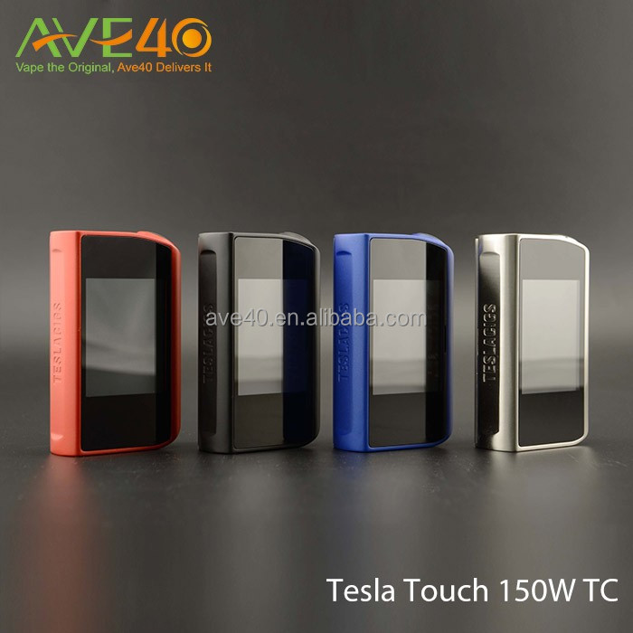 In Stock Tesla Touch 150W TC Box Mod