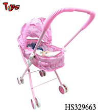 2015 Fashion China maufacturer stroller and IC 13 inches toy baby doll