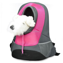 Newest big size pet carrier bags with red color for dogs