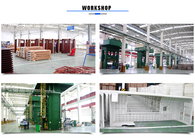 Different Styles Frp Door and Frame Supplier