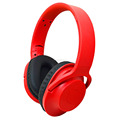 foldable bluetooth headphone With High Quality Plastic headband and soft earmuffs