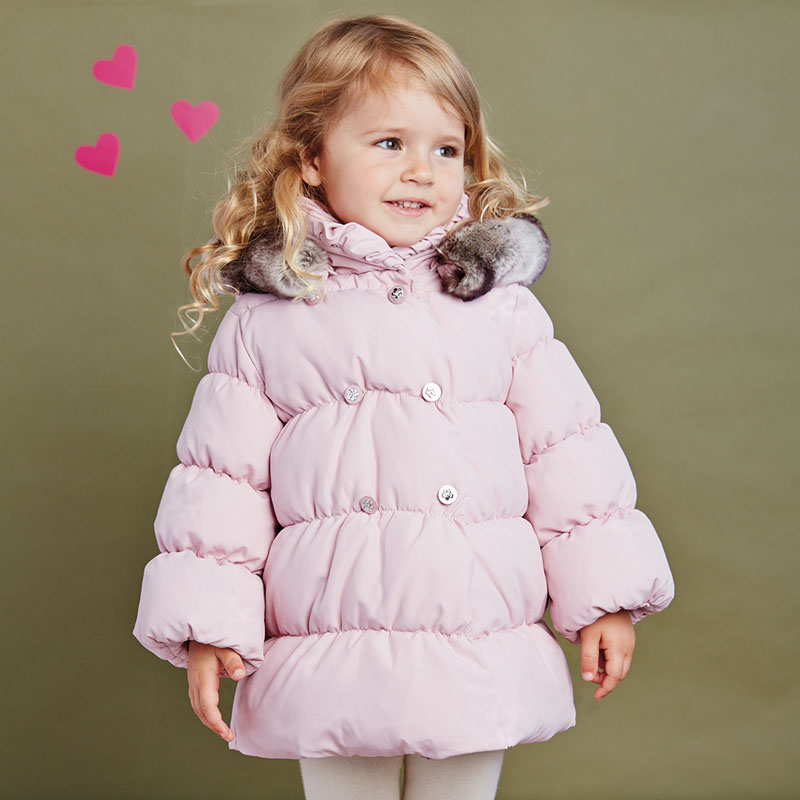 DB2704 dave bella 2015 autumn winter infant coat baby boy down jacket padded jacket outwear girls down coat down jacket
