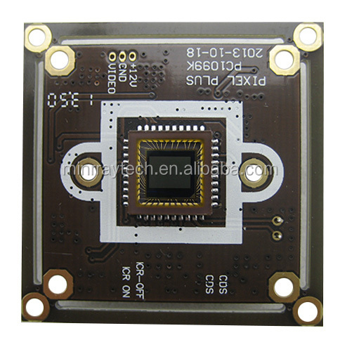 HD 1200TVL CCTV CMOS Camera Board OSD Menu Support UTC Control Analogy cctv camera