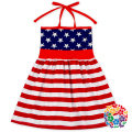 Latest Pentagram Designs Baby Girls Casual Dresses Children Cotton Frock Baby Girls