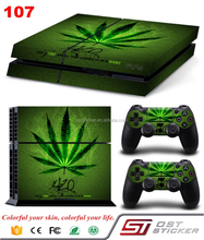 PVC material console skin for ps4 Cool Vinyl Decal Protective Skin